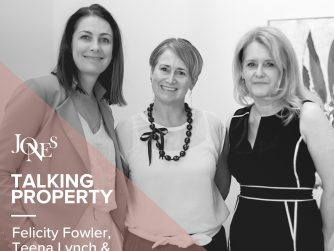 Talking Property podcast with Felicity, Teena and Stella