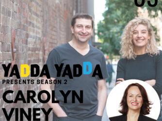 Podcast Now image for the show Yadda Yadda with Justine Hadj, Richard Jenkins and Carolyn Viney